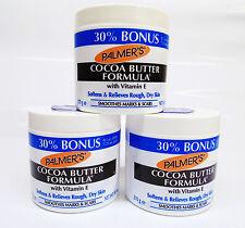 1kg/47,96 € Palmer 's Cocoa Butter Formula Burro di Cacao Crema Lozione Vitamina E NUOVO