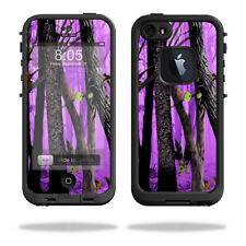 Skin Decal Wrap for LifeProof iPhone 5/5s/SE Case fre Case Purple Tree Camo