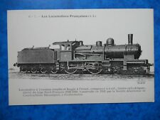 LOCOMOTIVE  Construite par la S.A.C.M à Grafenstaden en 1902.  ( A.L )