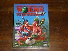 Worms United and Reinforcements (PC: Windows) Big Box