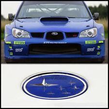 BRAND NEW #16 Subaru Blue Stars Front Grill JDM Emblem Badge WRX STI Impreza
