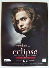 TWILIGHT ECLIPSE SERIES 2 THE CULLENS CARD D-5