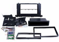 Double Din Radio Dash Mounting Kit and Wire Harness for 2011-2014 Toyota Sienna
