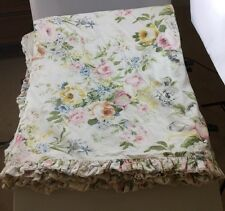RALPH LAUREN HOME LAKE FLORAL FRENCH COUNTRY SHABBY ROSE QUEEN FULL DUVET COVER