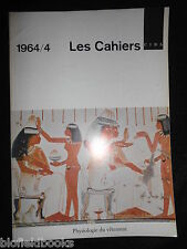 Les Cahiers - Vintage French Ciba Magazine - 1964, Issue 4 - Industrial/History