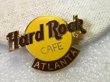 Vintage Hard Rock Cafe Atlanta Enameled Collector Brooch