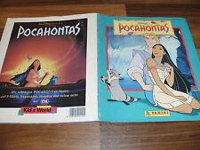 SAMMELBILDER/STICKER-ALBUM:  POCAHONTAS -- von Panini 1995 KOMPLETT