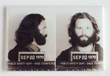 Jim Morrison Mug Shot FRIDGE MAGNET (2 x 3 inches) the doors poster