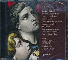 The Cardinal's Musick Andrew Carwood C NEW Tallis Lamentations