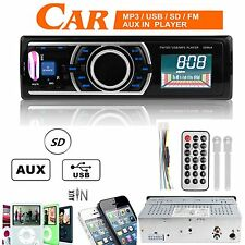 1 Din Car Autoradio Stereo Player MP3/USB/SD/AUX-IN FM Radio Head Unit Eingang