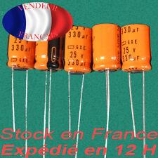 330uF 25V condensateur capacitor X5  125°C