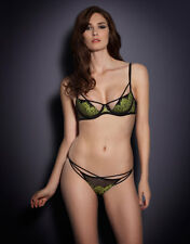 AGENT PROVOCATEUR ELECTRA BRA AND THONG SIZE 36B XLARGE/5/14-16  RRP £160 BNWT