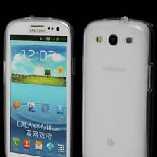 SAMSUNG GALAXY S3 CLEAR SOFT GEL TPU SILICONE CASE i9300 :FROSTED BACK M54 M50