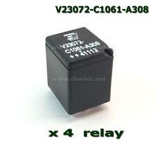 4  RELES V23072-C1061-A308, V23072C1061A308 TYCO , RELAY - FIAT PUNTO