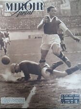 FOOT CHAMPIONNAT RED STAR ROUBAIX RUGBY ANGLETERRE FRANCE 48 MIROIR SPRINT 1947