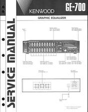 Kenwood Original Service Manual für GE-700