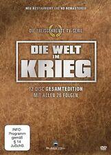 DIE WELT IM KRIEG (Gesamtedition) 12 DVDs NEU+OVP 2. Weltkrieg