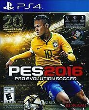 Pro Evolution Soccer 2016 (Sony PlayStation 4, 2015)