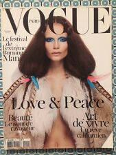 VOGUE PARIS 912 Nov 2010 Natasha Poly Extrême Burning Man Bambou Beauté Mode