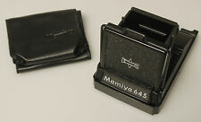(PRL) MAMIYA M645 645 VISEUR HAUT VISORE MIRINO A POZZETTO FINDER NEW OLD STOCK