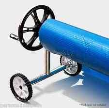 Adjustable Swimming Pool Cover Roller Solar Blanket Reel With Wheels AU SHIPPING