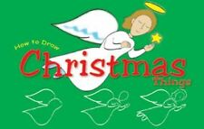 How to Draw Christmas Things (Doodle Books (Child's Way))-ExLibrary