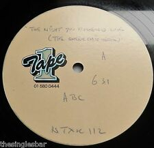 "ABC - The Night You Murdered Love UK 1987 Tape 1 1/Sided 12"" Acetate"