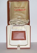 VINTAGE REMINGTON 300 ROLL-A-MATIC ELECTRIC RAZOR SHAVER WITH ORIGINAL BOX WORKS
