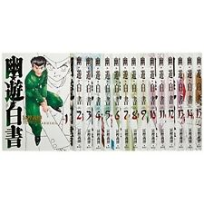 Yuyu Hakusho VOL.1-14 Comics Complete Set Japan Comic F/S