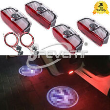 3D LED Ghost Shadow Door Logo Light For V-W MK5 MK6 MK7 Scirocco Sharan Magotan