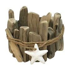 SONOMA Goods for Life Driftwood Large Candle Holder Sleeve *NEW*