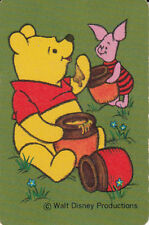Genuine Swap / Playing Card- 1 SINGLE  MINIATURES - WINNIE THE POOH