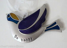 aa Be Happy BIRD OF HAPPINESS ORNAMENT Ganz everyday inspiration