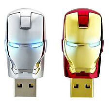 NEW 2pcs USB 2.0 unique iron man model 8G Enough Memory Stick Flash pen Drive G4