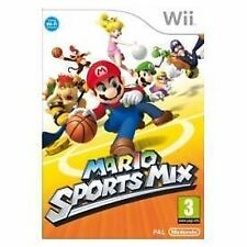 Mario Sports Mix Nintendo Wii PAL COMPLETE