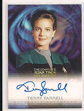 Complete Deep Space Nine DS9 Autograph Card A13 Terry Farrell  Lt Com Jadzia Dax