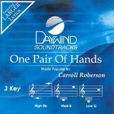 ONE PAIR OF HANDS ACCOMPANIMENT CD PERFORMANCE TRACK BY CARROLL ROBERSON NEW