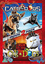 Cats and Dogs 2 Movie Disc Set The Revenge of Kitty Galore Blu-ray Digital Copy