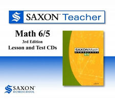 Saxon Math 65 Homeschool Teacher Lesson & Test CDs 6/5 Regular Price 99.00 NEW!
