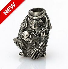 Hand-Cast Paracord Beads PREDATOR Custom Lanyard Bead EDC Bracelet Accessories
