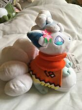 Pokemon Center Official Sapporo Snow Festival Alola Alolan Vulpix Plush w Tag