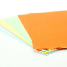 Pack of 30 - A4 Coloured Craft Sheets ~ Printer Copier Packs ~ 200gsm Paper Card