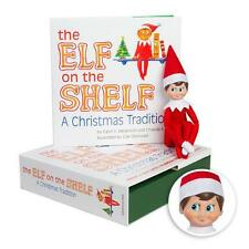 NEW The Elf on the Shelf Book and Elf A Christmas Tradition Boy Light Skin