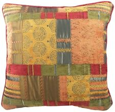 """Large Morocco Luxury Tapestry Chenille Cushion Cover,approx 22""""x 22"""" Terracotta"""