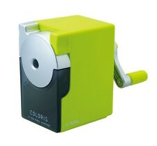 Carl Coloris Pencil sharpners Green  CP-100A-G From Japan