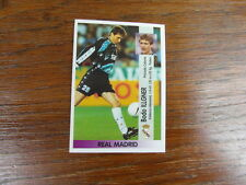 FOOTBALL STICKER PANINI collector : BODO ILLGNER REAL MADRID LIGA 1996-1997