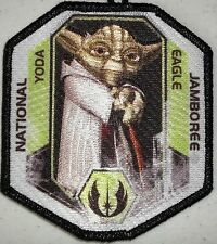 STAR WARS MARIN 2013 BSA Jamboree YODA 2017 Eagle Scout Patch 1 per SCOUTMASTER