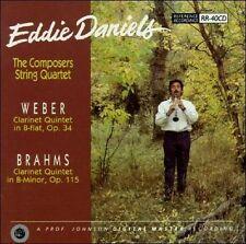 Brahms: Clarinet Quintet, Op. 115 / Weber: Clarinet Quintet, Op. 34 - E:clar/Com
