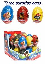 3 New Paw Patrol Eggs With Toy!