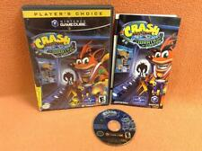 Crash Bandicoot Wrath of Cortex Nintendo Gamecube Super Fast FREE SHIP Complete!
